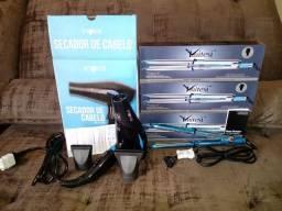 Kit Secador 2600w + Prancha 465°F