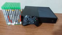 Xbox one Fat 500GB com garantia- Aceitamos PS3 mais volta