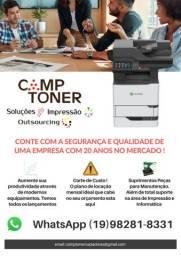 Impressoras, Multifuncionais, Cartuchos, Assistência Técnica, Informática