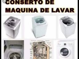 Manutenção em máquina de lavar e tanquinho