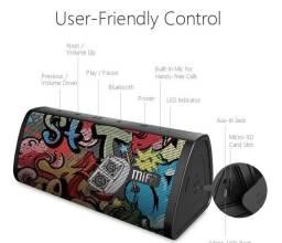 Caixa Bluetooth Mifa A10 stereo, surround e a prova d'água.
