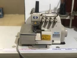 Máquina Interlock industrial motor silencioso