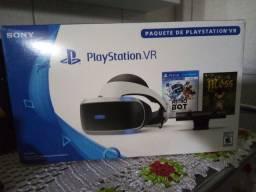 Playstation VR + Câmera + Jogo Astro Bot + 2 moves