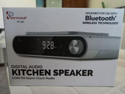 Radio Am Fm Bluetooth cozinha Ketchup Kt-CSs1