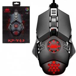 Mouse Gamer LED 6400DPI 6 Botões Knup