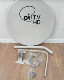 Antena parabólica ku 75cm nova