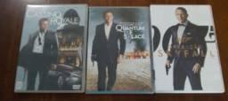 DVDs 007 - Três Filmes