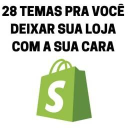 Promoção 28 Temas Shopify Black Friday