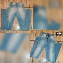 Desapego de calças jeans da Luh