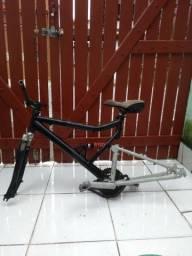 Bike- Quadro,Mesa e Guidom