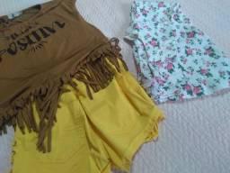 Kit roupas femininas.03 PEÇAS