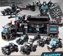 Lego 820 Peças, Caminhão , Robo, Helicóptero, 35 Tipos de Transformação, Tipo Lego, Novo