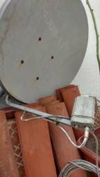 Antena com cabo de 5m