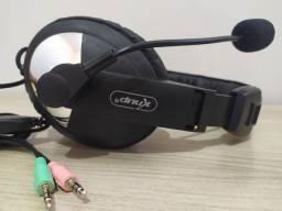 Fone de Ouvido Com Microfone Para PC