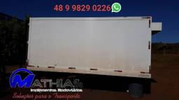 Camara refrigerada 5.00m para caminhão 3/4 Mathias implementos