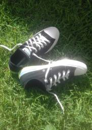 Converse All Star cano baixo Preto