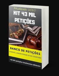 Você Advogado(a), Quer Ter o Melhor Kit de Petições? Kit de 43 Mil Petições