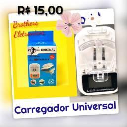 Carregador Universal Lcd Usb. Novo.