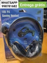 Headset para ps4 e Xbox one