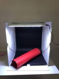 Mini studio para produção de fotos