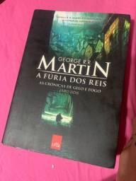 Livros- Game of thrones- ? A fúria dos Reis? e ? A guerra dos tronos?