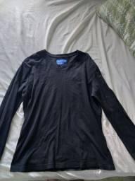 Blusa masculina, preta, veste 40 ao 44, marca BR'ANSK