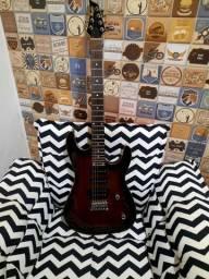Guitarra Memphis Mg 230 Preto Transparente