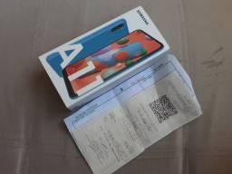 Samsung Galaxy A11 64 GB  novo com nota fiscal