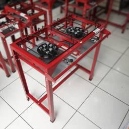 Fogão Semi Industrial Master 2 Bocas de 40x40cm Alta Pressão