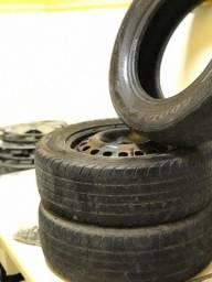 Vendo 6 pneus (2 zedaros)