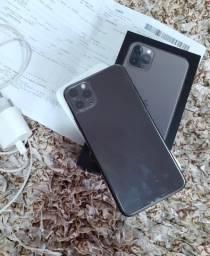 IPhone 11 Pro Max 64gb cinza- espacial