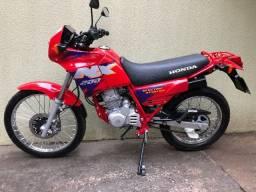 Nx 200 Vermelha