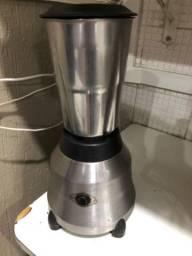 Liquidificador industrial inox alta rotação 1,5 litros