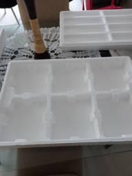 Transporte de isopor para marmita