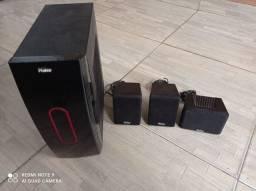 Sub e caixa home theater