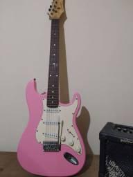 Vendo caixa amplificada para guitarra e Guitarra