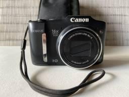 Câmera fotográfica Power Shot SX Modelo SX 160 IS