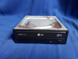Gravadora, leitora de DVD LG SATA,Usado, faço entrega.