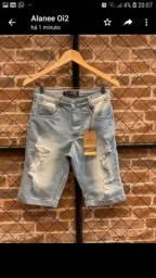 Bermuda jeans disponível tamanho 38