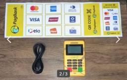 Máquina de cartão CHIP 2 da PagSeguro.