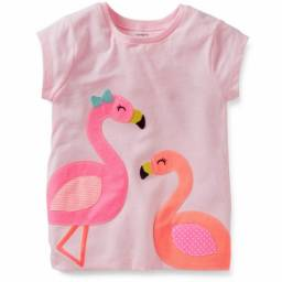 Camiseta Carter's Flamingo