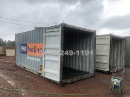 Container naval 6 metros 20 pés pronta entrega em Uberlândia - só 2 unidades
