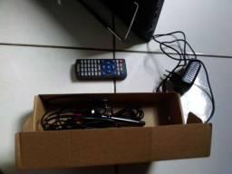 TV portátil nova, 14 polegadas ( Sem nota fiscal )