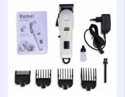Máquina de cortar cabelo aparador Kemei 809a