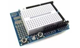 Protoshield para Arduino + Mini Protoboard com 170 Pontos