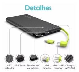 Carregador Portátil Bateria Externa Para Smartphones 10.000mah Original *