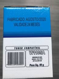 Cartucho Toner HP w1105a compatível 105A 107A 103 108 135 136 137 138 S/ CHIP 1K premium