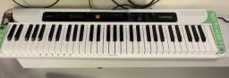 Teclado Casio Tone CT S 200 Branco Musical Digital 61 Teclas