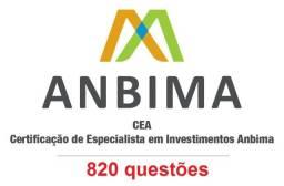 Exercícios Simulados Cea Anbima (820 questões)