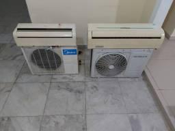 Ar condicionado split - 9 e 18 mil btus